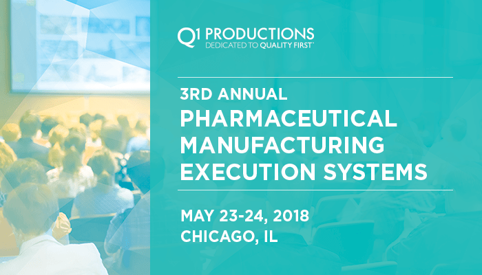 3rd Annual Pharmaceutical Manufacturing Execution Systems Conference