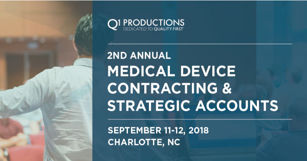 8th Annual Medical Device Contracting and Strategic Accounts Conference
