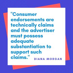 Diana Morgan Consumer Endorsement Quote