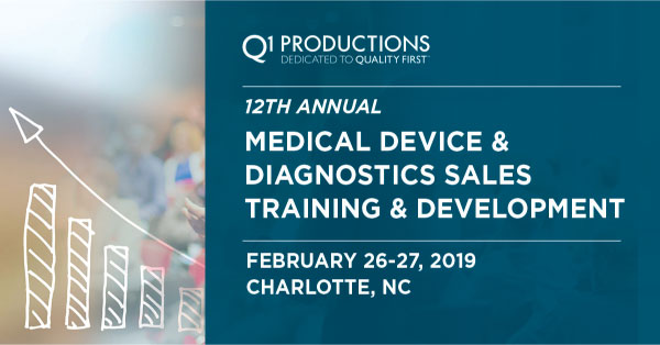 12TH ANNUAL MEDICAL DEVICE AND DIAGNOSTIC SALES TRAINING AND DEVELOPMENT CONFERENCE