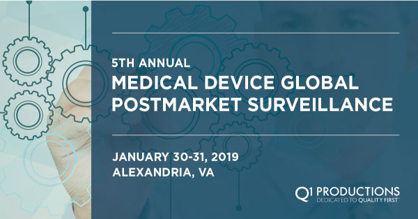 5TH ANNUAL MEDICAL DEVICE GLOBAL POSTMARKET SURVEILLANCE CONFERENCE