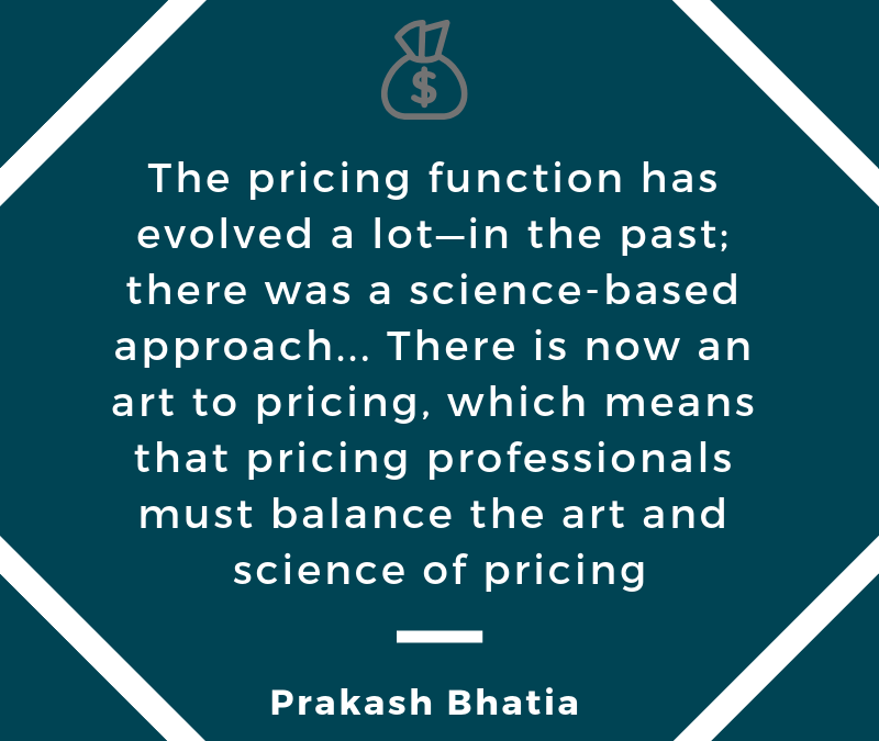Balancing Art & Science: Examining How Pricing Functions Evolve