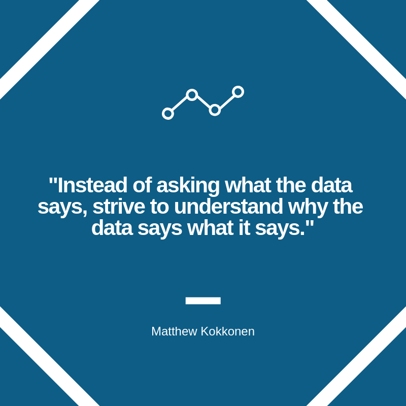 Data Analytics Post Quote Graphic