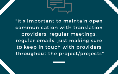 Panel Preview: Reaching Success In Partnerships With Translation Providers