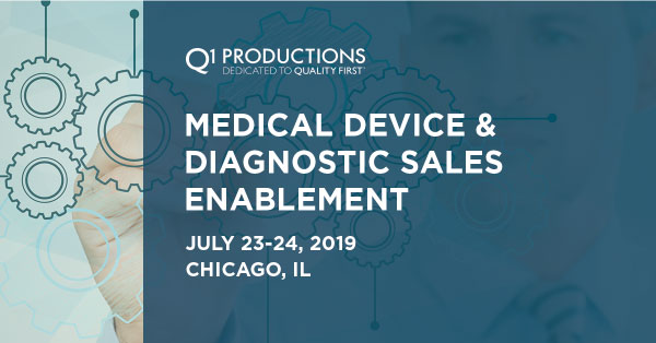 Medical Device and Diagnostic Sales Enablement Conference