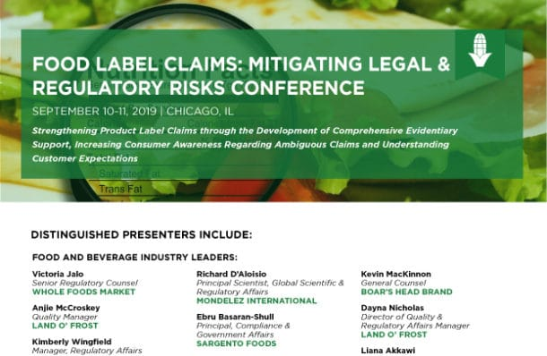 Food Label Claims Conference Bloom download agenda image