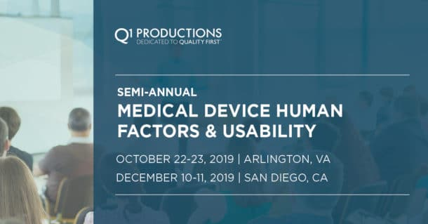 2019 Medical Device Human Factors Conference Linkedin Banner