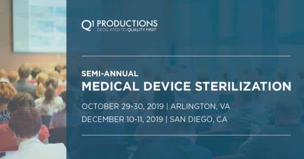 2019 Medical Device Sterilization Conference Download Agenda Image