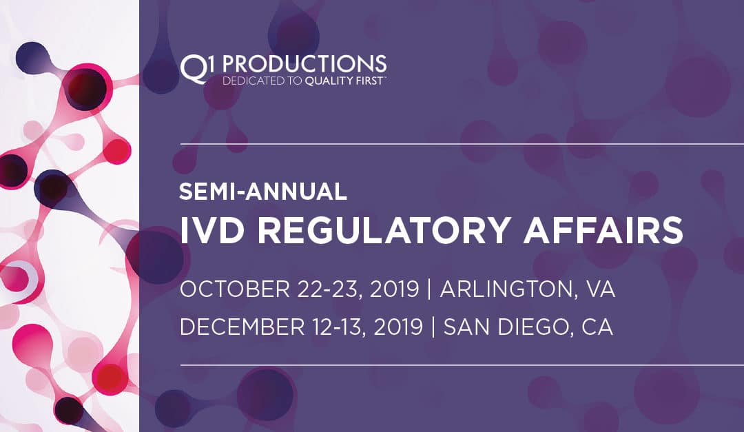 12th Annual IVD Clinical & Regulatory Affairs Conference: East