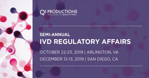 2019 IVD Clinical Regulatory Affairs Conference Download Agenda Image