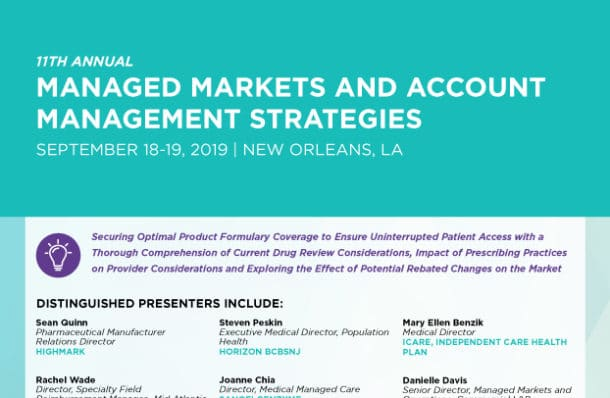 Managed Markets Conference Download Agenda Image