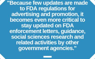 Legal Perspective on Recent FDA Enforcements