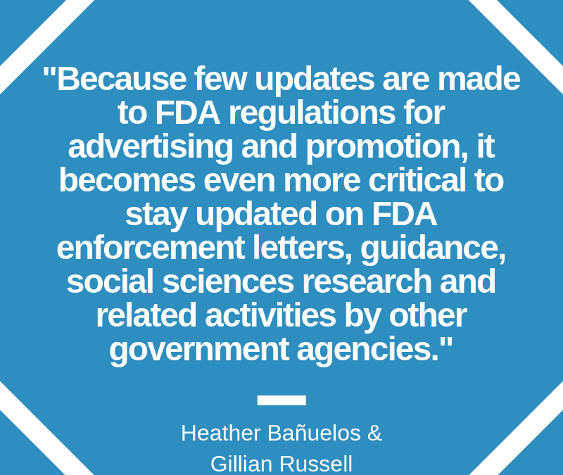 Legal Perspective on Recent FDA Enforcements