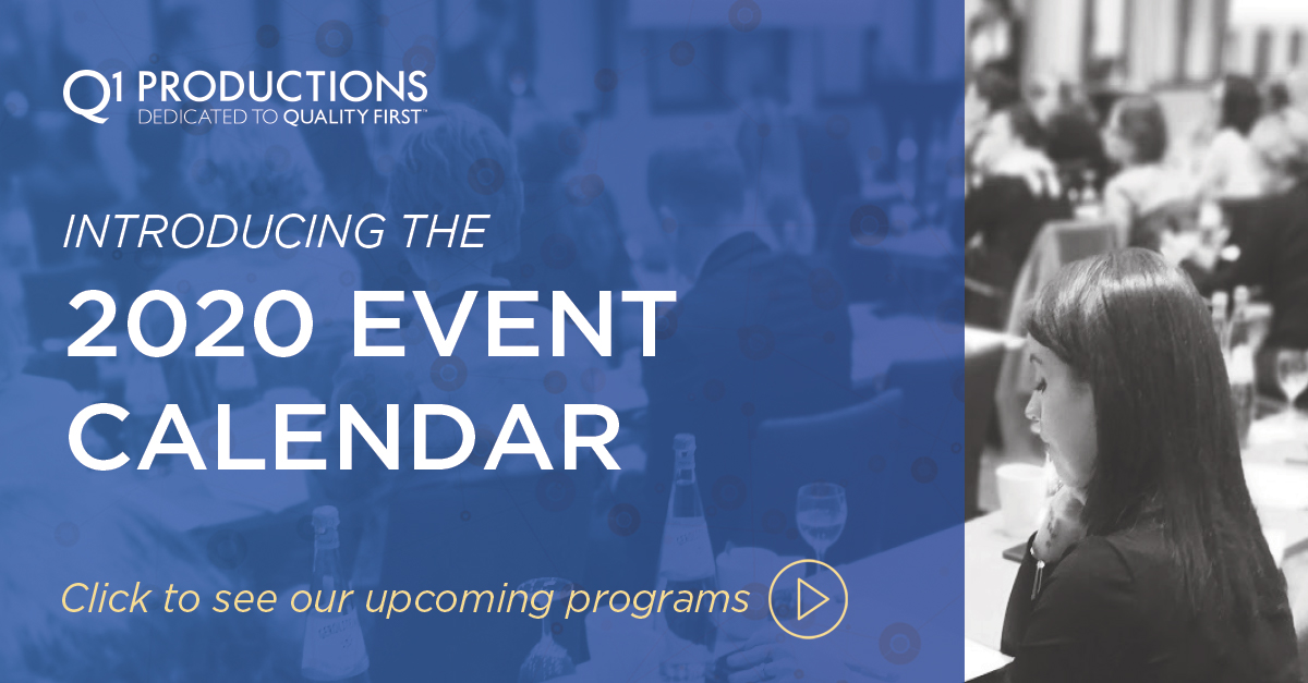 2020 event calendar banner