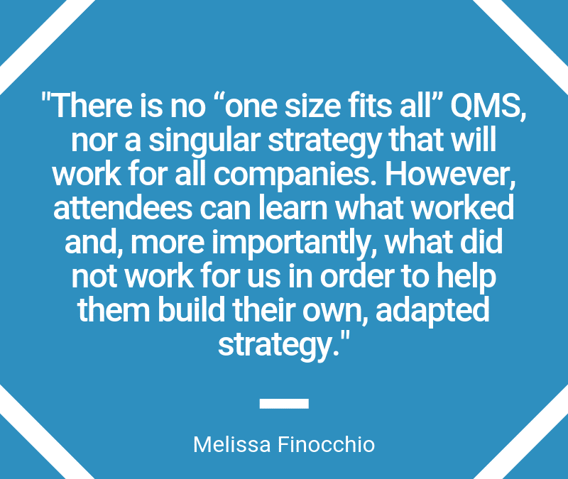 Building a Quality Management Strategy