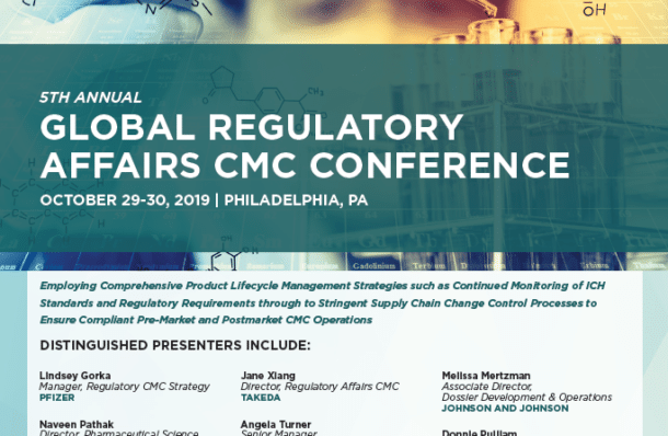 2019 Global Regulatory Affairs CMC Presenter List