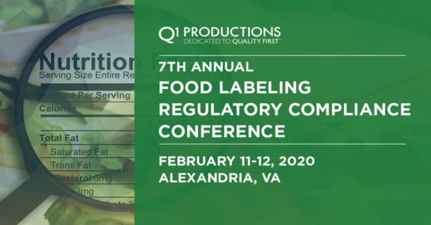 Food Labeling Conference LinkedIn Banner