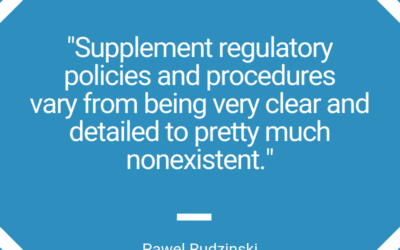 Dietary Supplement Manufacturing Processes