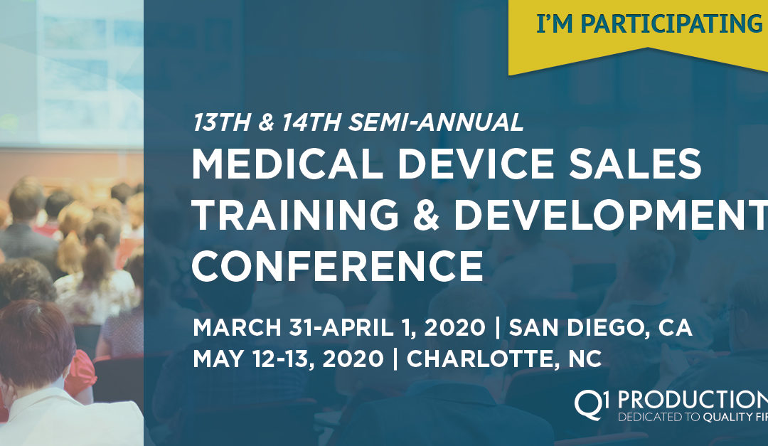Semi-Annual Medical Device and Diagnostic Sales Training and Development Conference