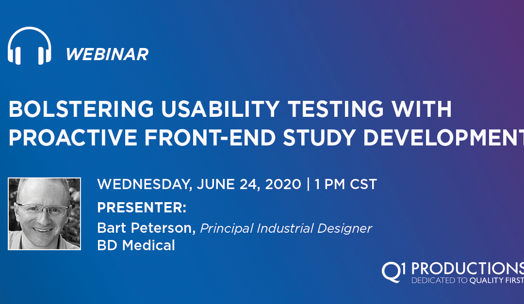 Bolstering Usability Testing with Proactive Front-End Study Development