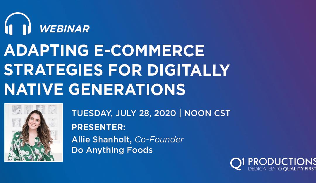 Adapting E-Commerce Strategies for Digitally Native Generations