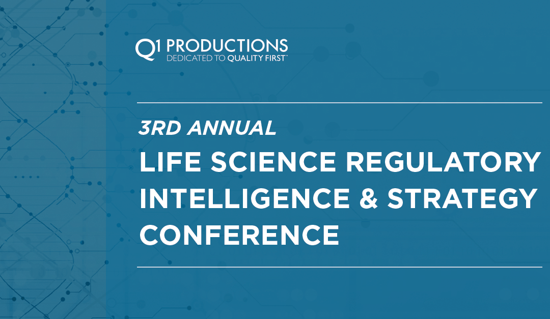 3rd Annual Life Science Regulatory Intelligence & Strategy Conference