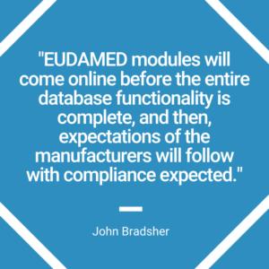 Preparing for EUDAMED