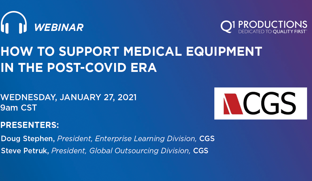 How to Support Medical Equipment in the Post-Covid Era